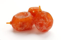 Dried kumquat close up Royalty Free Stock Photography