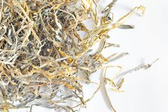 Dried Laminaria Royalty Free Stock Photography
