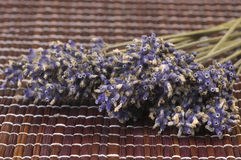 Dried lavender bunch. Countryside aromatherapy. herbalism Stock Photography