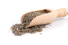 Dried lavender organic tea Royalty Free Stock Photos