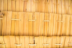 Dried leaves weave Royalty Free Stock Image