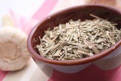 Dried lemon gras Stock Image