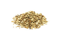 Dried lemon peel Royalty Free Stock Images
