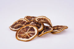 Dried Lemon Slices Stock Images