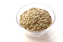 Dried lentils Stock Photo