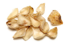 Dried lily bulbs royalty free stock image