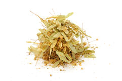 Dried Linden Flowers Royalty Free Stock Photos