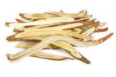 Dried liquorice roots Stock Photo