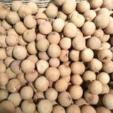 Dried  logan. Dry logan sold at supermarket Stock Images