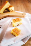 Dried Longan Cake. Royalty Free Stock Photos