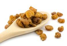 Dried longan fruit Royalty Free Stock Image