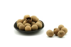 Dried longan Royalty Free Stock Photos