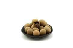 Dried longan Stock Photos
