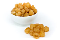 Dried longan fruit Royalty Free Stock Photography