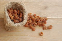 Dried longan Royalty Free Stock Images
