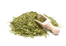 Dried lovage Stock Image