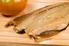Dried mackerel Stock Images