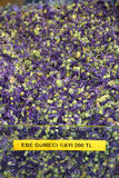 Dried Malva siylvestris petals, herbal tea Royalty Free Stock Photos