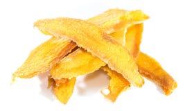 Dried Mango (isolated on white) Stock Photo