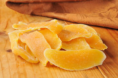 Dried mango slices Stock Images
