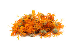 Dried marigold tea Royalty Free Stock Image