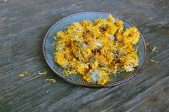Dried marigold Stock Photos