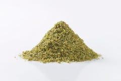 Dried Marjoram leaves Stock Photo