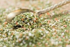 Dried mediterranean herbs Stock Image