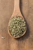 Dried mediterranean herbs mix Stock Image