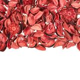 Dried medley potpourri leaves Royalty Free Stock Photo