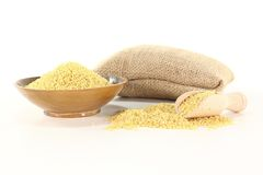 Dried Millet Stock Photography