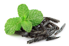 Dried mint tea Royalty Free Stock Image