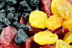 Dried mix berries. Royalty Free Stock Photo