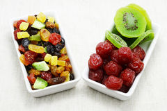 Dried mix fruit Stock Images