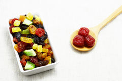 Dried mix fruit Stock Image