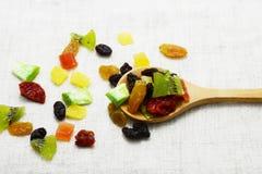Dried mix fruit Stock Photos