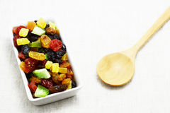 Dried mix fruit Stock Photo