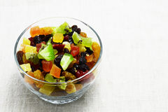 Dried mix fruit Royalty Free Stock Photo