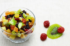 Dried mix fruit Royalty Free Stock Photos