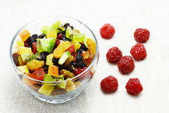 Dried mix fruit Stock Photography