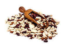 Dried mixed beans. Royalty Free Stock Photos