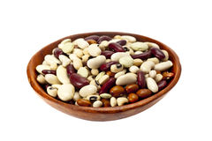 Dried mixed beans. Stock Photos