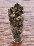 Dried morels Royalty Free Stock Photography