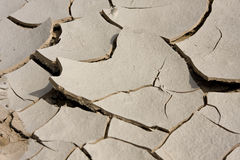 Dried mud. Stock Photo