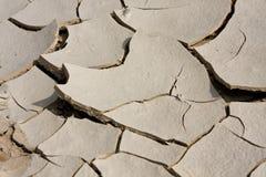 Dried mud. Stock Photo