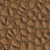 Dried Mud. Seamless Texture Tile stock illustration