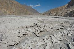 Dried mud Stock Photo