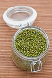 Dried mung beans Stock Image
