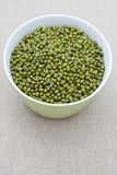 Dried mung beans Royalty Free Stock Images