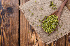 Dried Mung Beans Stock Photography
